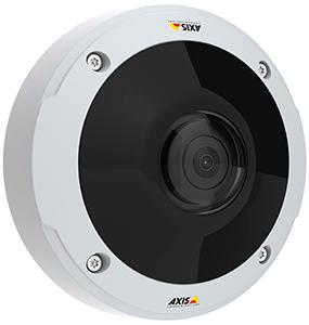 """Компания AXIS Communications выпустила уличную IP-камеру c объективом """"рыбий глаз"""" и 6 Мп матрицей"""