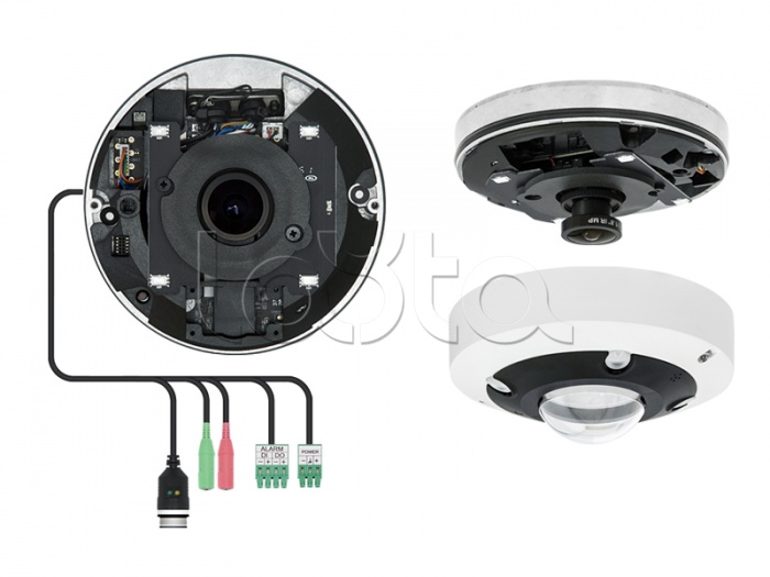 EVIDENCE Apix - FishEye / M12 EXT, IP-камера видеонаблюдения уличная купольная EVIDENCE Apix - FishEye / M12 EXT