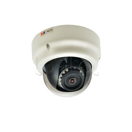 ACTi B51, IP-камера видеонаблюдения купольная ACTi B51