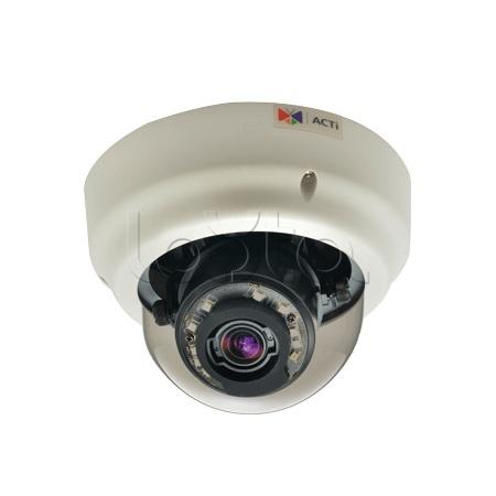 ACTi B67, IP-камера видеонаблюдения купольная ACTi B67