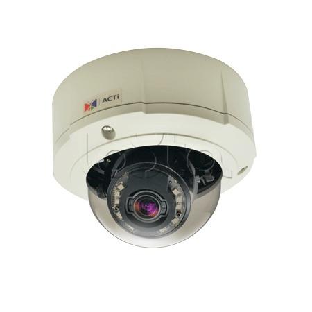 ACTi B84, IP-камера видеонаблюдения уличная купольная ACTi B84