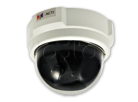 ACTi D51, IP-камера видеонаблюдения купольная ACTi D51