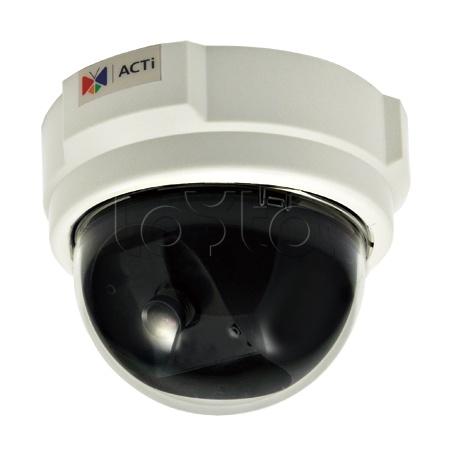 ACTi D52, IP-камера видеонаблюдения купольная ACTi D52