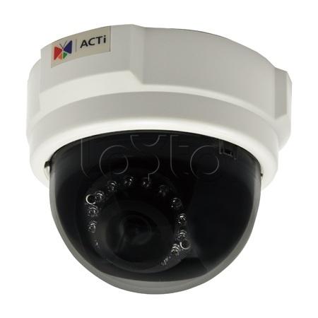 ACTi D54, IP-камера видеонаблюдения купольная ACTi D54