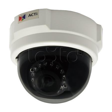ACTi D55, IP-камера видеонаблюдения купольная ACTi D55