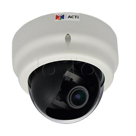 ACTi D61A, IP-камера видеонаблюдения купольная ACTi D61A