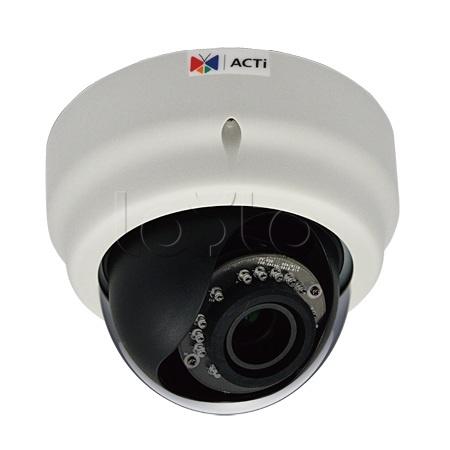 ACTi D65A, IP-камера видеонаблюдения купольная ACTi D65A
