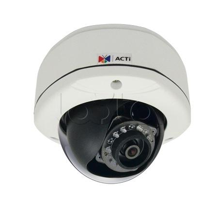 ACTi D72A, IP-камера видеонаблюдения уличная купольная ACTi D72A