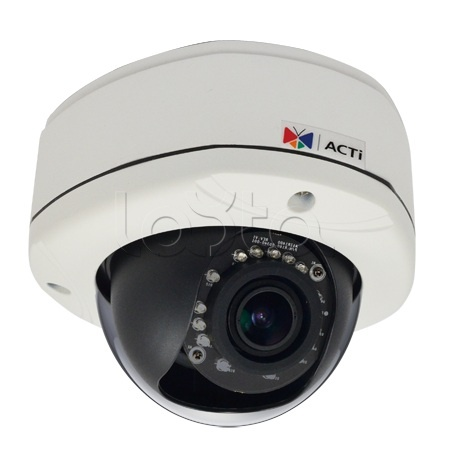 ACTi D82A, IP-камера видеонаблюдения уличная купольная ACTi D82A