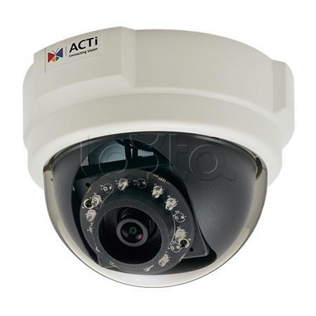 ACTi E57, IP-камера видеонаблюдения купольная ACTi E57