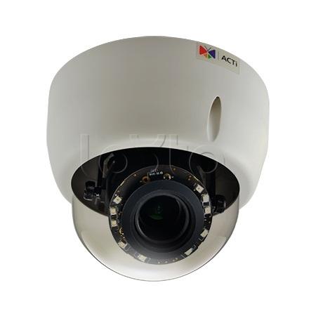 ACTi E610, IP-камера видеонаблюдения купольная ACTi E610