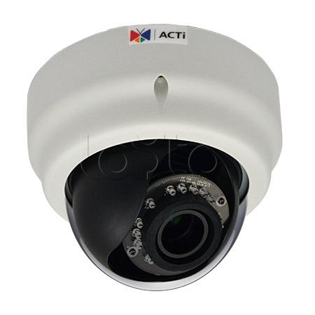 ACTi E65A, IP-камера видеонаблюдения купольная ACTi E65A