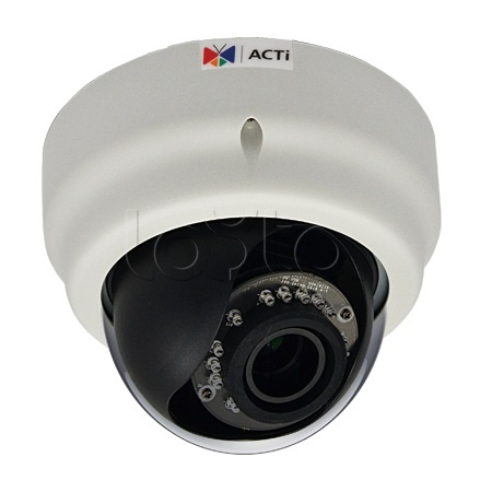 ACTi E68, IP-камера видеонаблюдения купольная ACTi E68