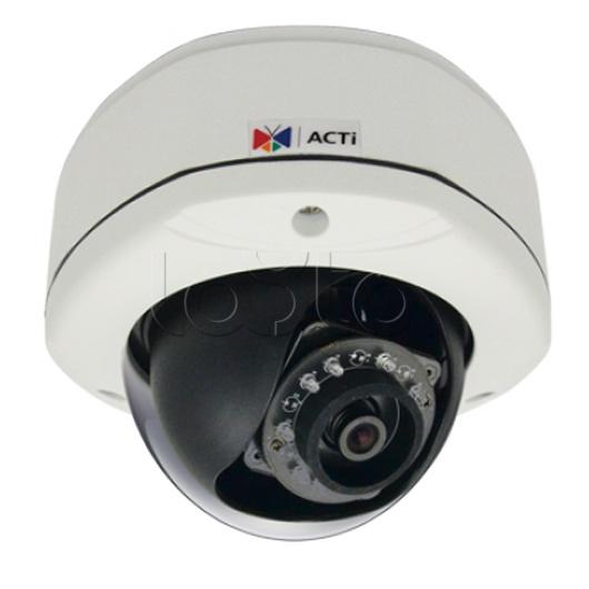 ACTi E73A, IP-камера видеонаблюдения уличная купольная ACTi E73A