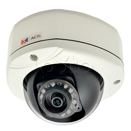 ACTi E76, IP-камера видеонаблюдения уличная купольная ACTi E76
