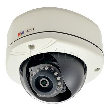 ACTi E77, IP-камера видеонаблюдения уличная купольная ACTi E77