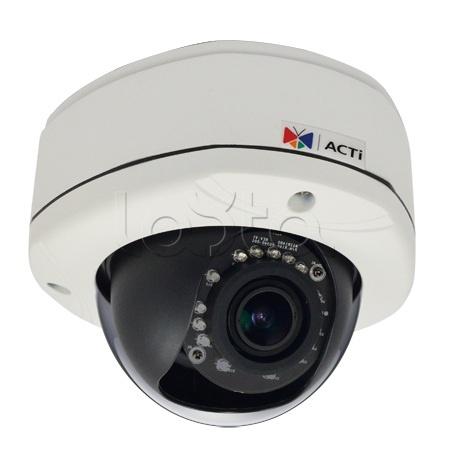 ACTi E83A, IP-камера видеонаблюдения уличная купольная ACTi E83A