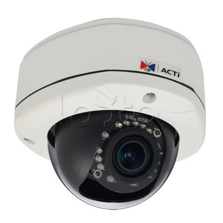 ACTi E84A, IP-камера видеонаблюдения уличная купольная ACTi E84A