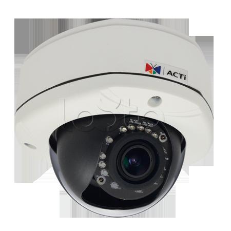 ACTi E88, IP-камера видеонаблюдения уличная купольная ACTi E88