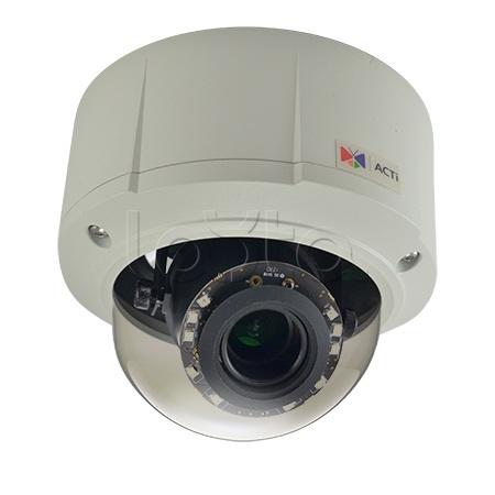 ACTi E89, IP-камера видеонаблюдения уличная купольная ACTi E89