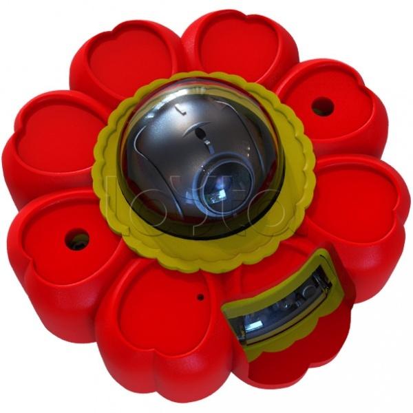 ActiveCam MyAC-D4121IR1 «Цветок», IP-камера видеонаблюдения купольная ActiveCam MyAC-D4121IR1 «Цветок»