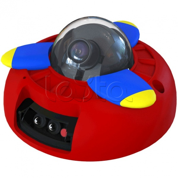 ActiveCam MyAC-D4121IR1 «Ретроавиация», IP-камера видеонаблюдения купольная ActiveCam MyAC-D4121IR1 «Ретроавиация»