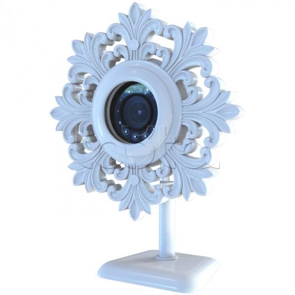 ActiveCam MyAC-D8121IR2 «Лепнина», IP-камера видеонаблюдения купольная ActiveCam MyAC-D8121IR2 «Лепнина»