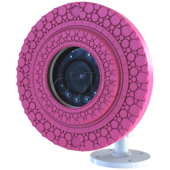 ActiveCam MyAC-D8121IR2 «Пузырьки», IP-камера видеонаблюдения купольная ActiveCam MyAC-D8121IR2 «Пузырьки»