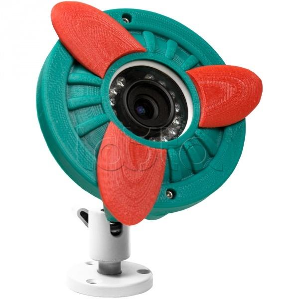 ActiveCam MyAC-D8121IR2 «Ретроавиация», IP-камера видеонаблюдения купольная ActiveCam MyAC-D8121IR2 «Ретроавиация»