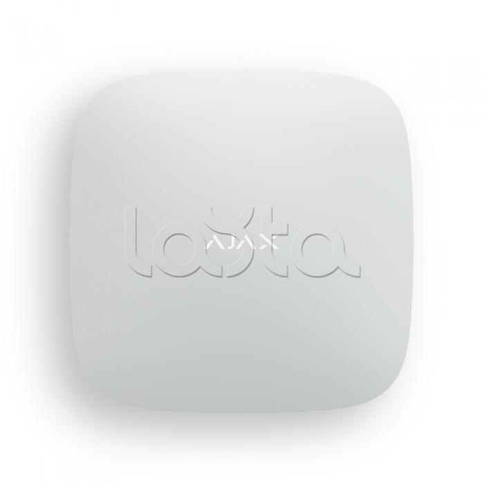 Ajax Hub 2 Plus (White), Смарт-централь с фотоверификацией тревог и четырьмя каналами связи: Ethernet, Wi-Fi, 2хSIM-карты Ajax Hub 2 Plus (White)