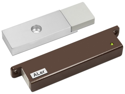 Замок электромагнитный Aler AL-150 PRemium (12 В, коричневый)