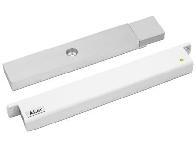 Замок электромагнитный Aler AL-200 PRemium (12 В, белый)
