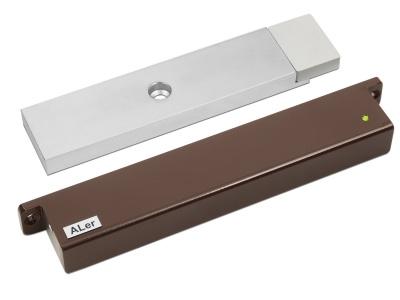 Замок электромагнитный Aler AL-300 PRemium (12 В, коричневый)