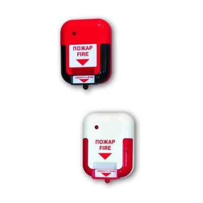 Извещатель пожарный ручной Арсенал Безопасности ИР-1 (красный)