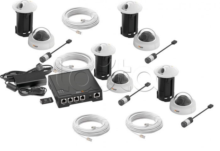 AXIS (0779-002), Комплект видеонаблюдения AXIS (0779-002)