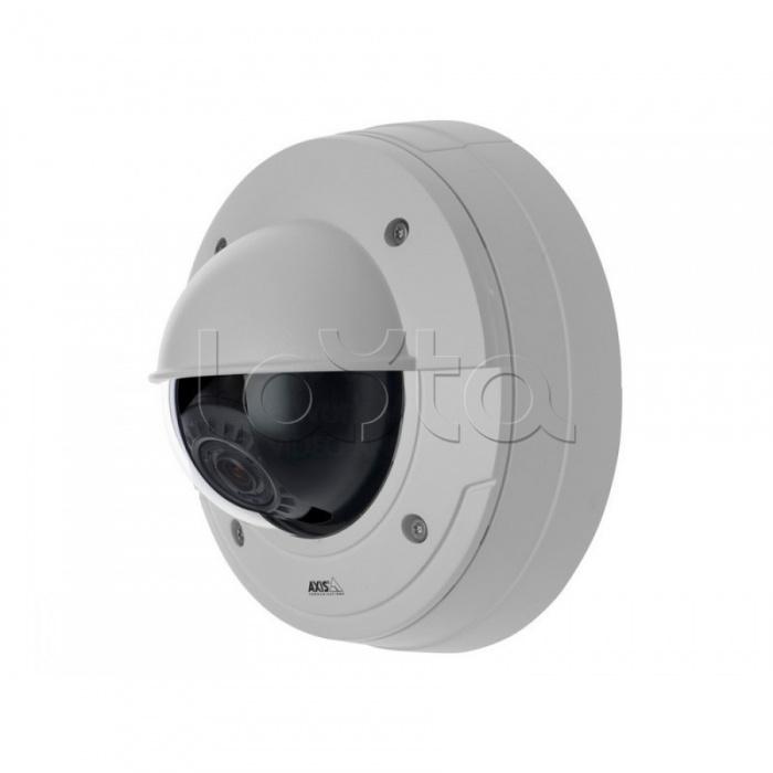 AXIS P3364-LVE (6 мм) 0473-001, IP-камера видеонаблюдения купольная AXIS P3364-LVE 6 мм (0473-001)