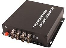 Новые оптические передатчики и приемники на 1-8 каналов от OSNOVO