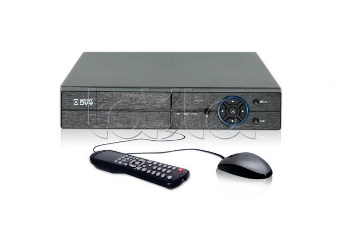 BestDVR-400Light-AM, Видеорегистратор цифровой гибридный 4 канальный BestDVR-400Light-AM