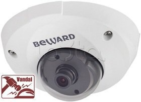 Beward B1210DM (3,6мм), IP-камера видеонаблюдения уличная купольная Beward B1210DM (3,6мм)