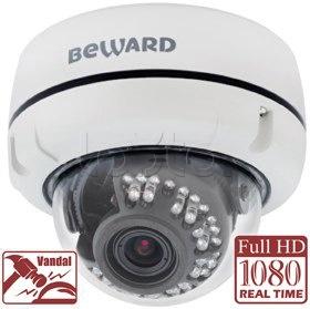 Beward B2720DV, IP-камера видеонаблюдения уличная купольная Beward B2720DV