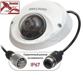 Beward BD3570DM (2,8 мм), IP-камера видеонаблюдения уличная купольная Beward BD3570DM (2,8 мм)