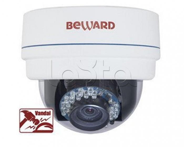 Beward BD3570DV, IP камера видеонаблюдения купольная Beward BD3570DV