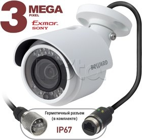 Beward BD3570RC (16 мм), IP-камера видеонаблюдения уличная миниатюрная Beward BD3570RC (16 мм)