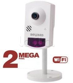 Beward BD43CW, IP-камера видеонаблюдения миниатюрная Beward BD43CW