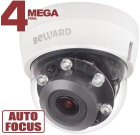 Beward BD4680DRZ, IP-камера видеонаблюдения купольная Beward BD4680DRZ