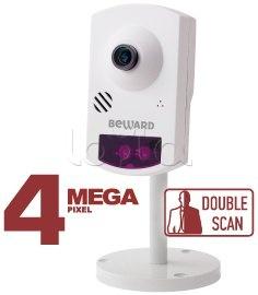 Beward BD46C (2,8 мм), IP-камера видеонаблюдения миниатюрная Beward BD46C (2,8 мм)