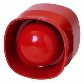 Сирена адресная (LSNi) для помещений красная BOSCH FNM-420-A-RD