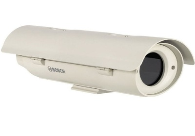 Термокожух уличный с обогревателем, размораживателем входного стекла, вентилятором и солнцезащитным козырьком BOSCH UHO-HBPS-10