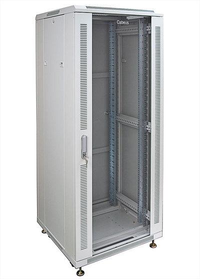 """Шкаф напольный 19"""" 22U Cabeus SH-05C-22U60/60"""
