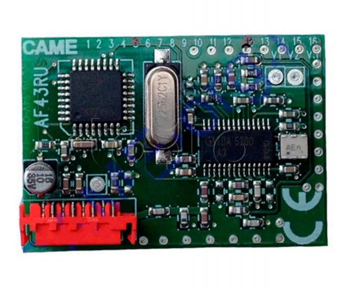 Came 001AF43RU, Плата радиоприемника встраиваемая Came 001AF43RU